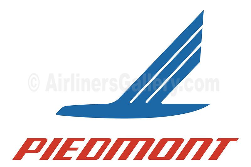 1. Piedmont Airlines (1st) logo