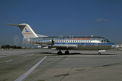 Airline Color Scheme - Introduced 1988 (metal top)