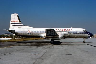 Piedmont Airlines (1st) NAMC YS-11A-205 N164P (msn 2053) ATL (Fernandez Imaging Collection). Image: 930356.