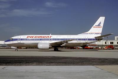 Piedmont Airlines (1st) Boeing 737-301 N317P (msn 23235) MIA (Bruce Drum). Image: 103487.