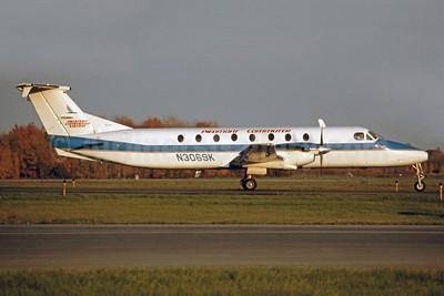 Piedmont Commuter (Piedmont Commuter System)-Brockway Air Beechcraft 1900C N3069K (msn UB-71) SYR (Jay Selman). Image: 400487.