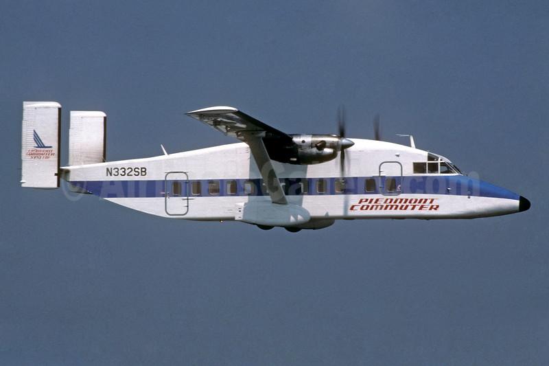 Piedmont Commuter - CCAir Shorts SD3-30 N332SB (msn SH.3096) CLT (Jay Selman). Image: 400488.