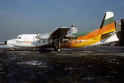 Pilgrim Airlines Fokker F.27 Mk. 100 N144PM (msn 10107) LGA (Keith Armes). Image: 922075.