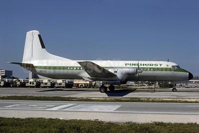 Pinehurst Airlines NAMC YS-11A-306 N111PH (msn 2073) MIA (Bruce Drum). Image: 103366.