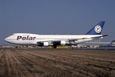 Polar Air Cargo Boeing 747-259B (F) N924FT (msn 21730) LAX (Roy Lock). Image: 944807.