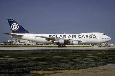 Polar Air Cargo Boeing 747-132 (F) N857FT (msn 20246) MIA (Bruce Drum). Image: 103489.