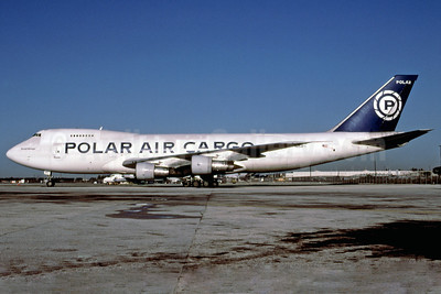 Polar Air Cargo Boeing 747-122 (F) N854FT (msn 19754) MIA (Bruce Drum). Image: 102242.