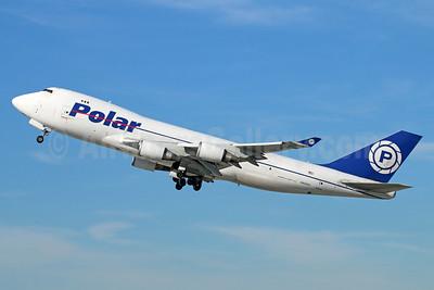Polar Air Cargo Boeing 747-46NF N450PA (msn 30808) LAX (Michael B. Ing). Image: 926443.
