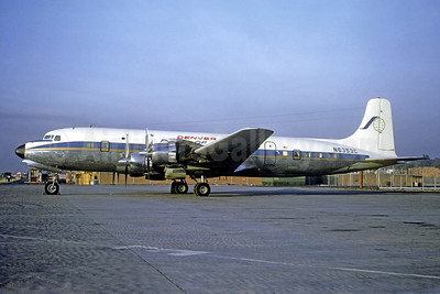Ports-of-Call Denver Douglas DC-7 N6353C (msn 45486) MEX (Christian Volpati Collection). Image: 939772.