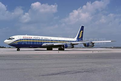 Ports of Call Denver Boeing 707-323C N705PC (msn 19587) ATH (Richard Vandervord). Image: 954453.