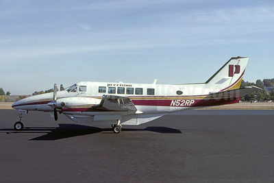 Precision Airlines Beech C99 Airliner N52RP (msn U-210) MHT (Wayne Brown - Bruce Drum Collection). Image: 950463.