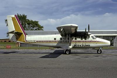 Precision Airlines de Havilland Canada DHC-6-100 Twin Otter N203E (msn 53) MPV (Bruce Drum). Image: 105320.