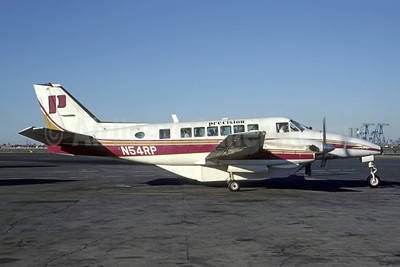 Precision Airlines Beech C99 Airliner N54RP (msn U-218 (Bob Weinwurzel - Bruce Drum Collection). Image: 950464.