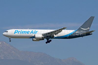 Prime Air (ATI) Boeing 767-338 ER (F) N307AZ (msn 28725) ONT (Michael B. Ing). Image: 937303.