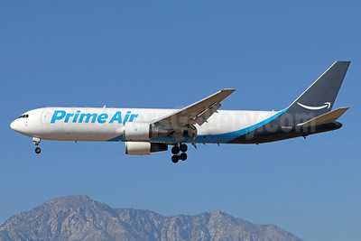 Prime Air (ATI) Boeing 767-338 ER (F) N313AZ (msn 24930) ONT (Michael B. Ing). Image: 939488.