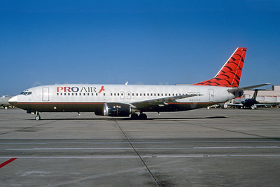 Pro Air (Michigan) (2nd) Boeing 737-49R N460PR (msn 28881) ATL (Norbert G. Raith). Image: 921815.