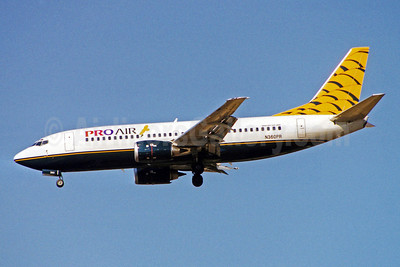 Pro Air (Michigan) (2nd) Boeing 737-3U3 N360PR (msn 28742) BWI (Brian McDonough). Image: 921812.