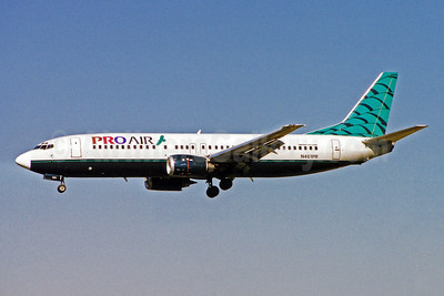 Pro Air (Michigan) (2nd) Boeing 737-49R N461PR (msn 28882) BWI (Brian McDonough). Image: 921816.