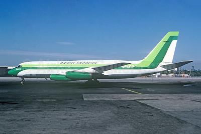 Profit Express Airlines - Profit Airlines Convair 880-22M-3 N54CP (msn 22-00-46M) JFK (Fred Freketic). Image: 950394.