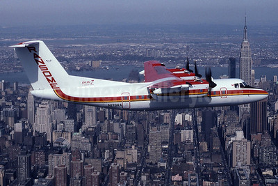 Ransome Airlines de Havilland Canada DHC-7-102 Dash 7 N176RA (msn 76) New York City (Jay Selman). Image: 402104.
