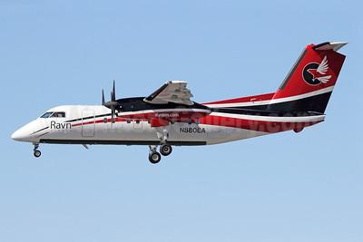 Ravn Alaska (Corvus Airlines) de Havilland Canada DHC-8-106 Dash 8 N880EA (msn 392) ANC (Michael B. Ing). Image: 927821.
