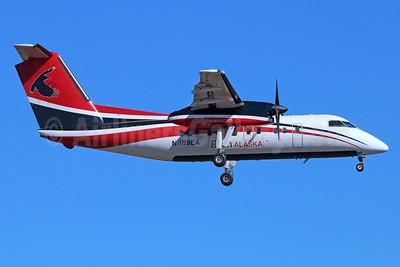 Ravn Alaska (Corvus Airlines) de Havilland Canada DHC-8-106 Dash 8 N889EA (msn 322) ANC (Michael B. Ing). Image: 938184.