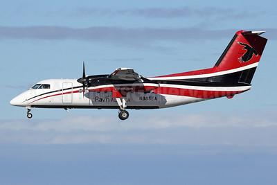 Ravn Alaska (Corvus Airlines) de Havilland Canada DHC-8-102 Dash 8 N885EA (msn 341) ANC (Michael B. Ing). Image: 927817.