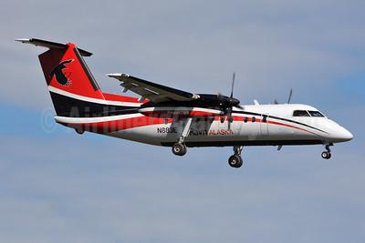 Ravn Alaska (Corvus Airlines) de Havilland Canada DHC-8-106 Dash 8 N883EA (msn 260) ANC (Ken Petersen). Image: 928174.