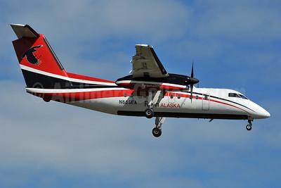 Ravn Alaska (Corvus Airlines) de Havilland Canada DHC-8-102 Dash 8 N885EA (msn 341) ANC (Ken Petersen). Image: 928172.