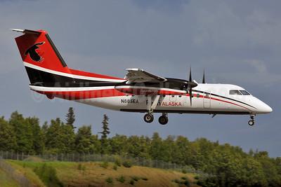Ravn Alaska (Corvus Airlines) de Havilland Canada DHC-8-102 Dash 8 N885EA (msn 341) ANC (Ken Petersen). Image: 928173.