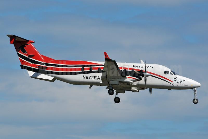 Ravn Alaska (Corvus Airlines) Beechcraft (Raytheon) 1900C N972EA (msn UE-389) ANC (Ken Petersen). Image: 928171.
