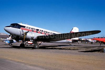 Reeve Aleutian Airways-RAA Douglas C-47A-DL (DC-3) N75142 (msn 9173) ANC (John B. Hayes). Image: 942591.