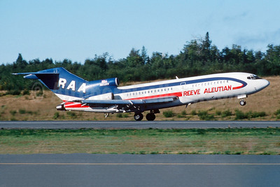 Reeve Aleutian Airways-RAA Boeing 727-22C N832RV (msn 19098) ANC (Jay Selman). Image: 403947.