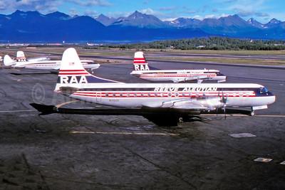 The Reeve Aleutian fleet in July 1976