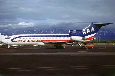 Reeve Aleutian Airways-RAA Boeing 727-22C N832RV (msn 19098) ANC (Perry Hoppe). Image: 910917.