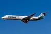 Reno Air McDonnell Douglas DC-9-87 (MD-87) N754RA (msn 49641) LAS (Bruce Drum). Image: 103323.