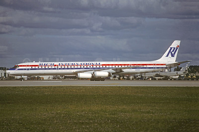 Rich International Airways McDonnell Douglas DC-8-63 N4935C (msn 45931) MIA (Christian Volpati Collection). Image: 948120.