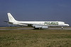 Pegasus Travel (Rich International Airways) McDonnell Douglas DC-8-62 N1805 (msn 45899) ORY (Jacques Guillem). Image: 934475.
