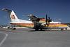Rocky Mountain Airways-RMA de Havilland Canada DHC-7-102 Dash 7 N87RM (msn 39) (Golden West colors) DEN (Robert E. Garrard). Image: 921033.