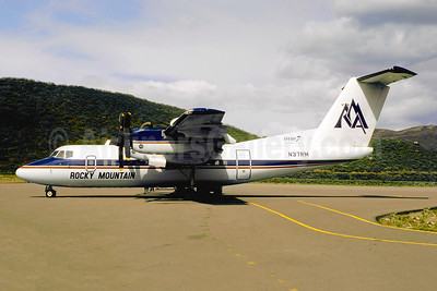 Rocky Mountain Airways-RMA de Havilland Canada DHC-7-102 Dash 7 N37RM (msn 6) ASE (Jacques Guillem). Image: 941796.