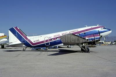 Royal West Airways (1st) Douglas DC-3-277C N138D (msn 2245) LAS (Bruce Drum). Image: 105316.