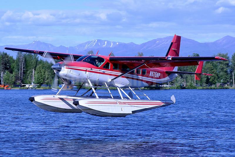 Rust's Flying Service Cessna 208 Caravan I N675HP (msn 20800289) LHD (Robbie Shaw). Image: 934032.