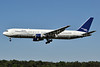 Ryan International Airlines Boeing 767-332 N123DN (msn 23437) (Delta Air Lines colors) BWI (Tony Storck). Image: 910628.