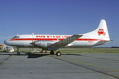 SMB Stage Line Convair 640 (F) N866TA (msn 283) OKC (Christian Volpati Collection). Image: 940787.