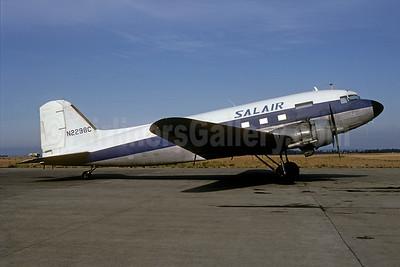 Salair Air Cargo Douglas C-47B-DK (DC-3) N2298C (msn 33201) SEA (Bruce Drum). Image: 104884.