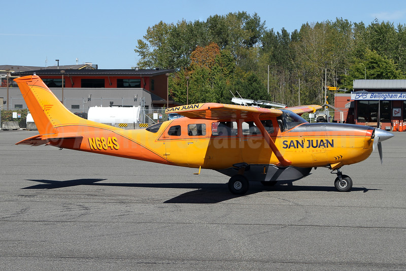 San Juan Airlines (3rd) Cessna T207 Turbo Skywagon N684S (msn 20700147) BLI (Nick Dean). Image: 934347.