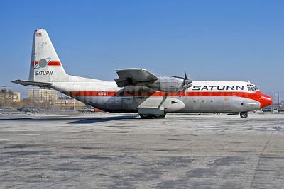 Saturn Airways Lockheed 382G (L-100-30) Hercules N17ST (msn 4333) JFK (Rob Rindt Collection). Image: 950413.