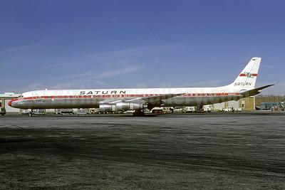Saturn Airways McDonnell Douglas DC-8-61CF N8956U (msn 45949) ATL (Bruce Drum). Image: 103168.