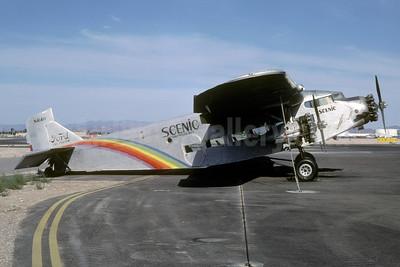 Scenic Airlines Ford 5-AT-C Tri Motor N414H (msn 5-AT-74) LAS (Bruce Drum). Image: 102770.