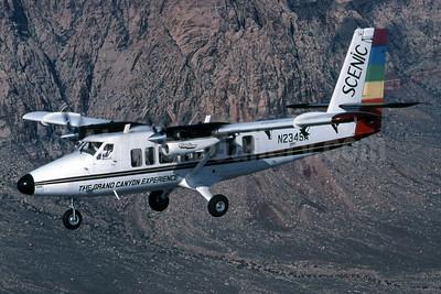 "Scenic Airlines de Havilland Canada DHC-6-300 Twin Otter ""Vista Liner"" N234SA (msn 448) (Jay Selman). Image: 403607."